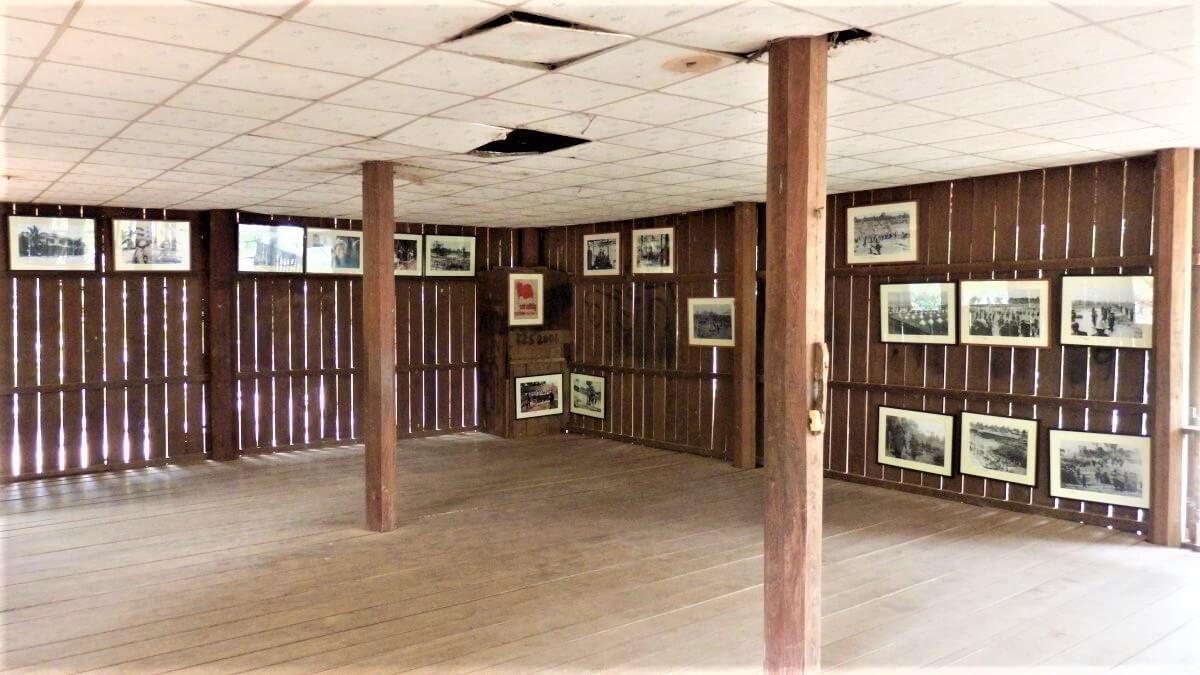 Ta Mok house at Anlong Veng Lake