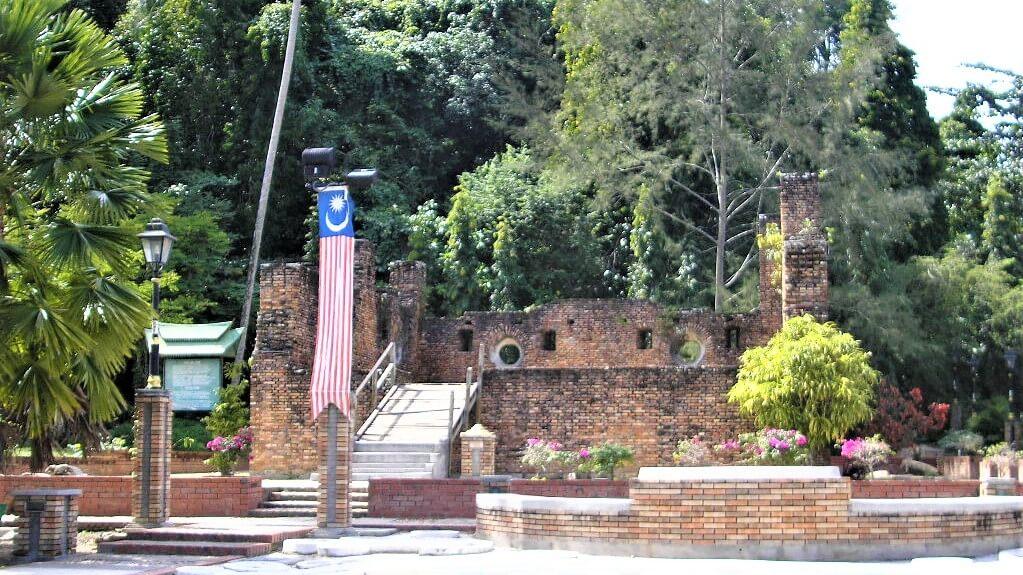 Dutch fort at Pulau Pangkor, Malaysia