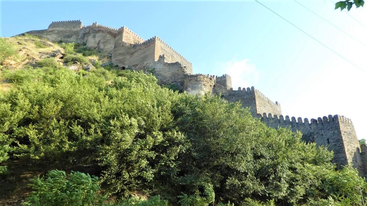 Tskhra-kara, the nine gates of Gori fortress