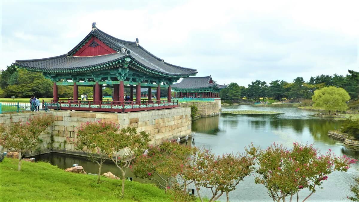 Donggung Palace and Wolji Pond in Gyeongju