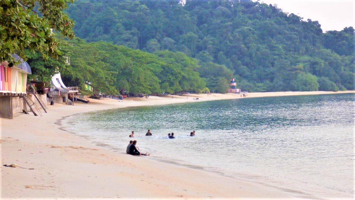 The beach of Pulau pangkor, Malaysia