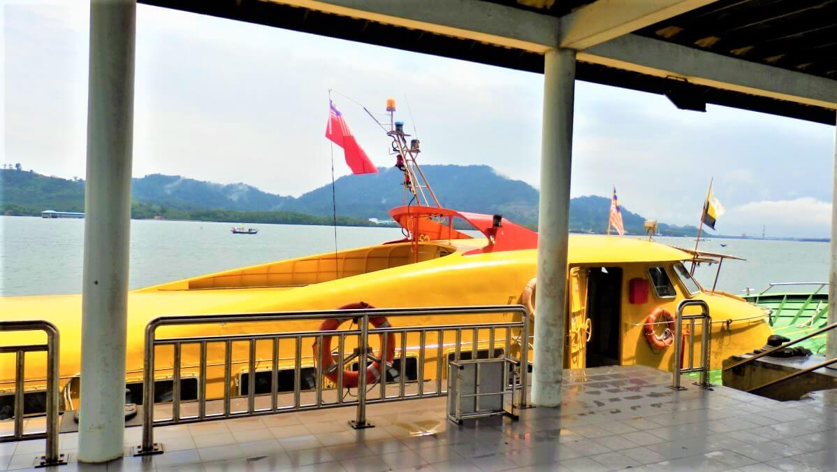 The ferry between Lumut and Pulau Pangkor