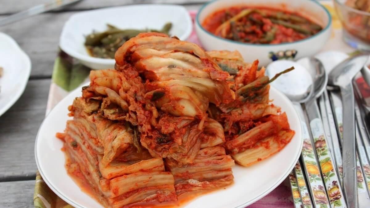 Kimchi food, South Korea