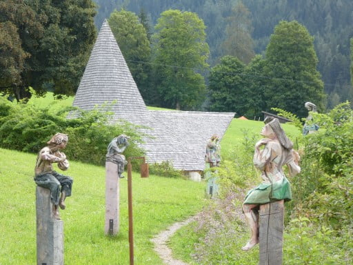 Ort der Stille in Alpbachtal, Austria
