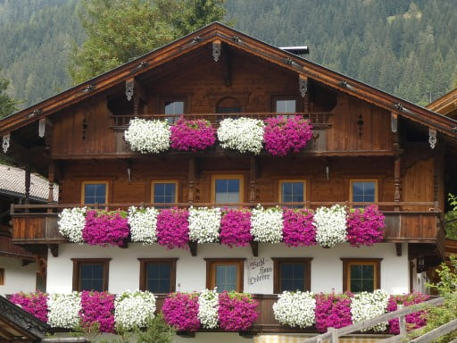 The flower village of Europe?