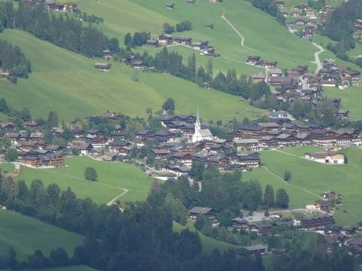 The little village Alpbach in Austria