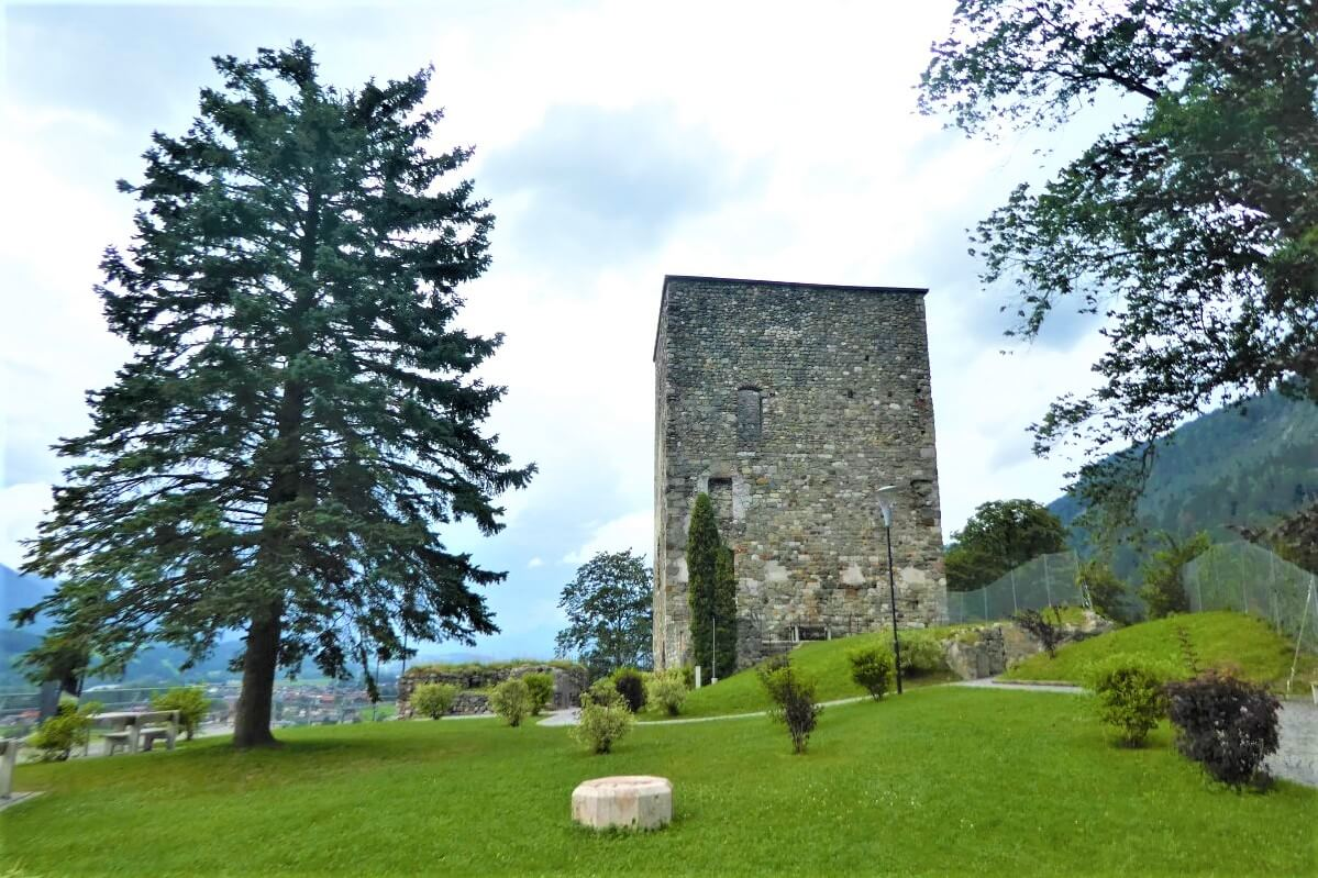 The tower where Biener was beheaded