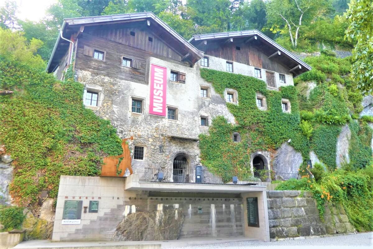 Museum Nagelschmiedhauser in the city of Rattenberg, Tyrol