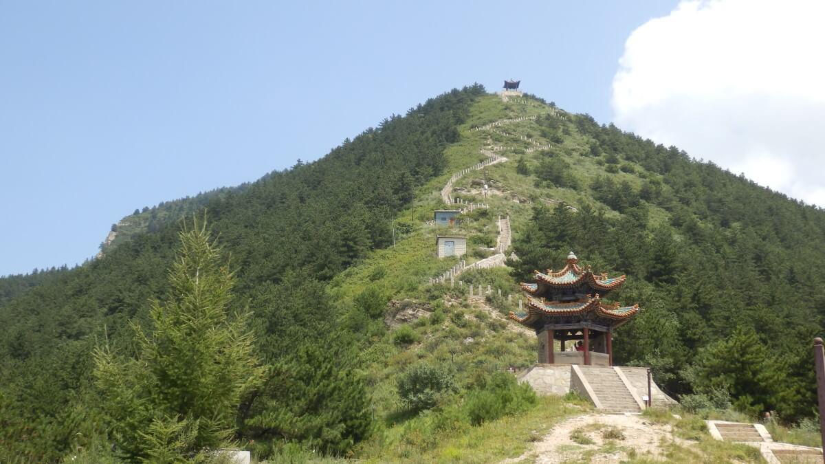 Beiyue Hengshan near Hunyuan, China