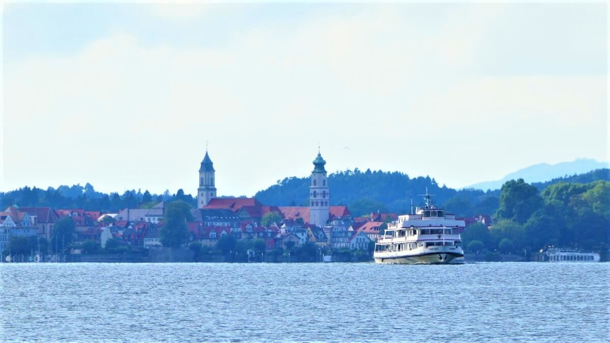The beautiful town of Lindau at Lake Constance