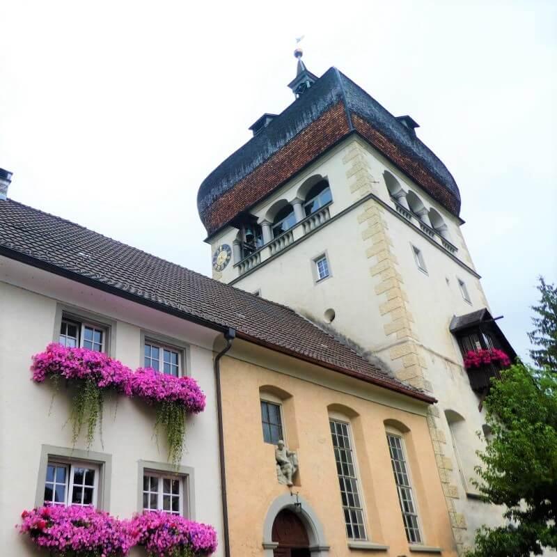 The Martin Tower in the Oberstadt, Bregenz