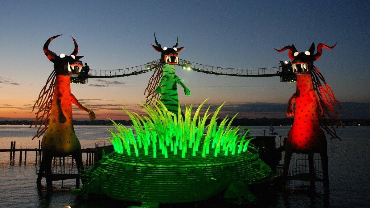 The Bregenzer Festspiele, Lake Constance