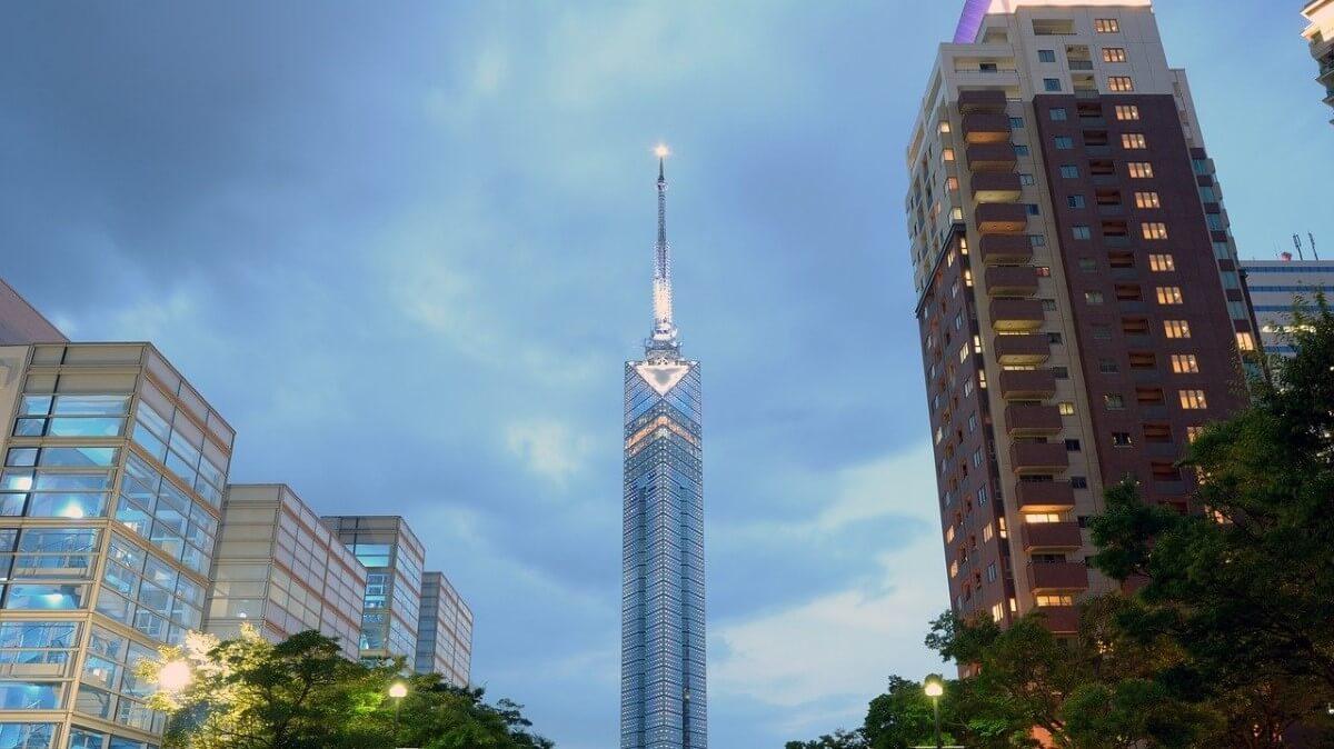 Fukuoka Tower in Japan