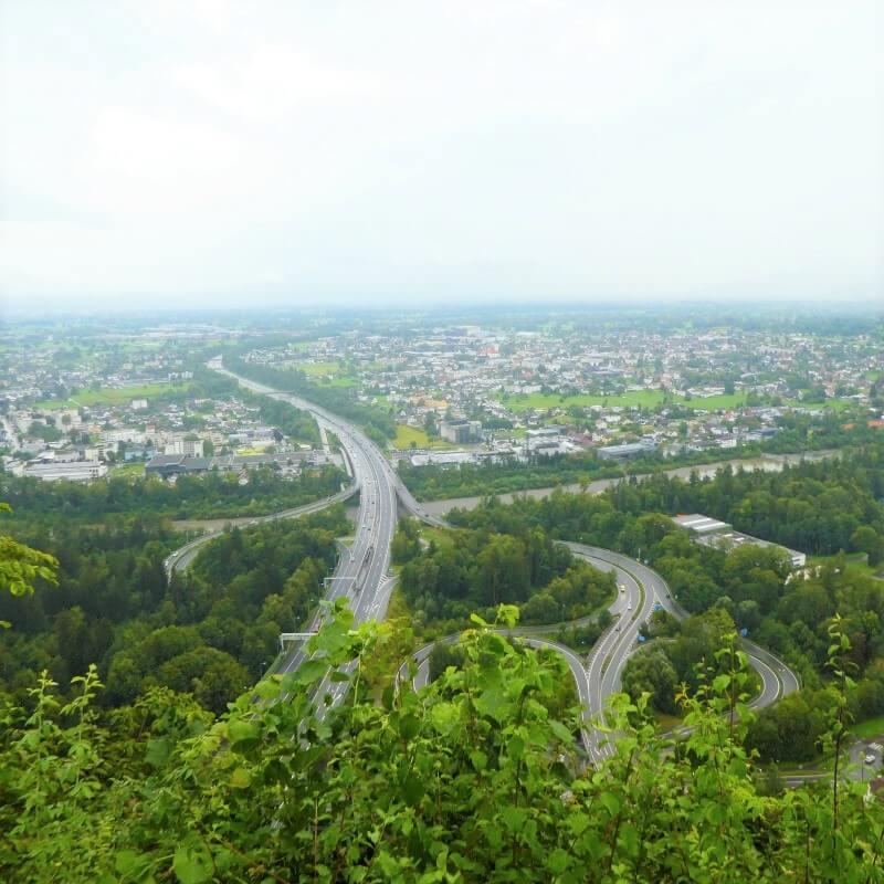 Mountain Gebhard in Bregenz, Austria
