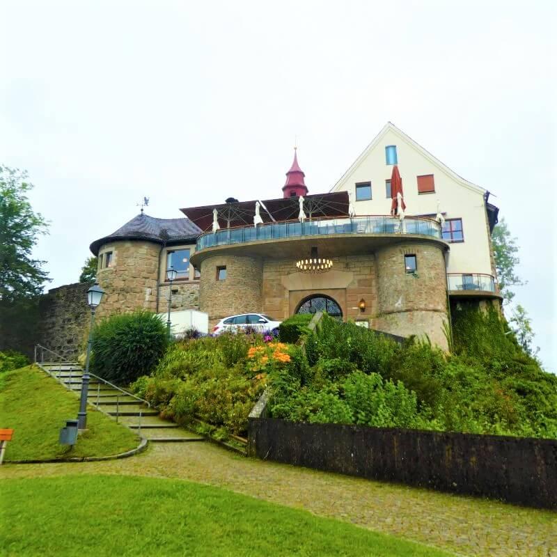 Hohenbregenz, an old ruin at a mountain