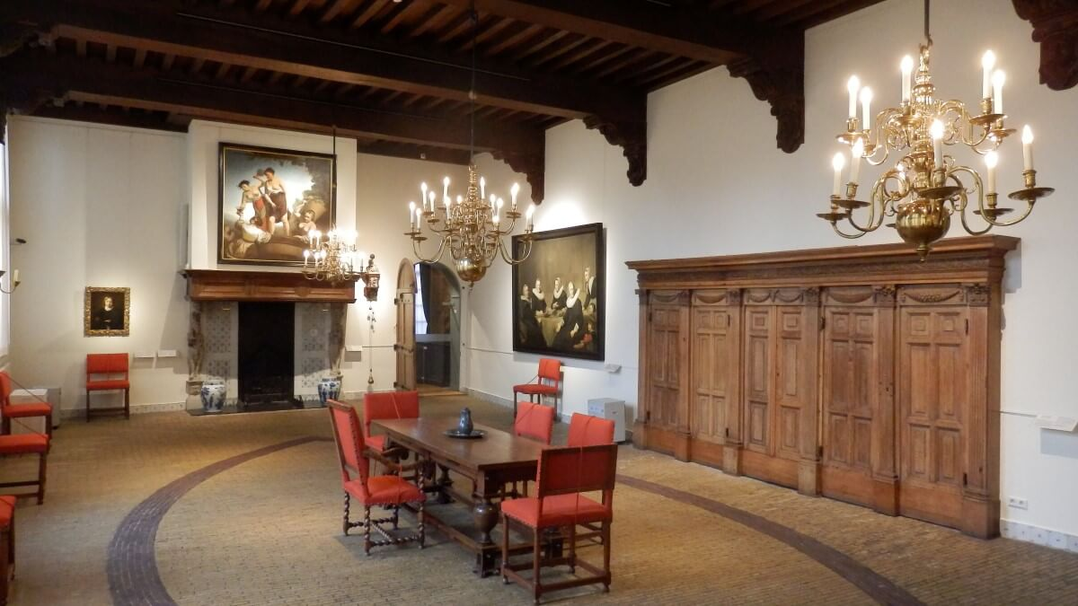 Room in the Frans Hals Museum, Haarlem