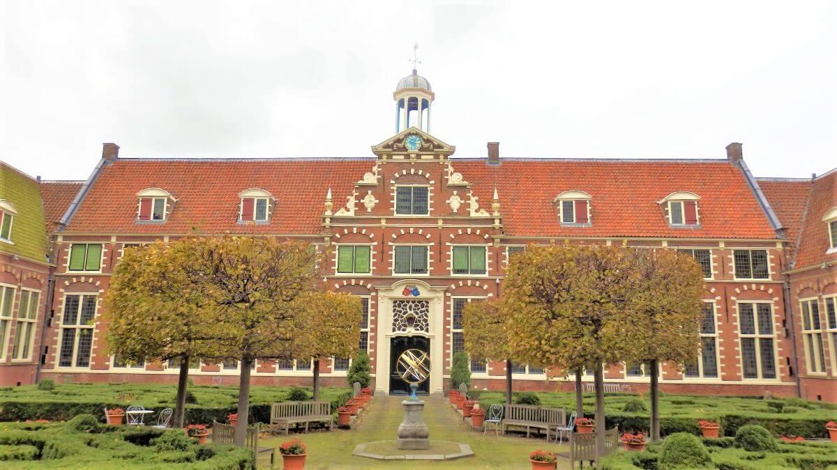 The wonderful Frans Hals Museum in Haarlem
