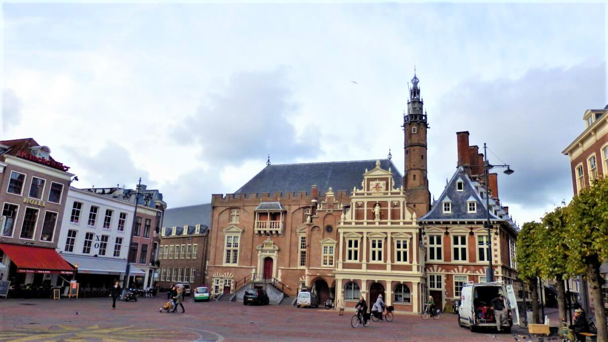 The City Hall at the Grote Markt, Haarlem