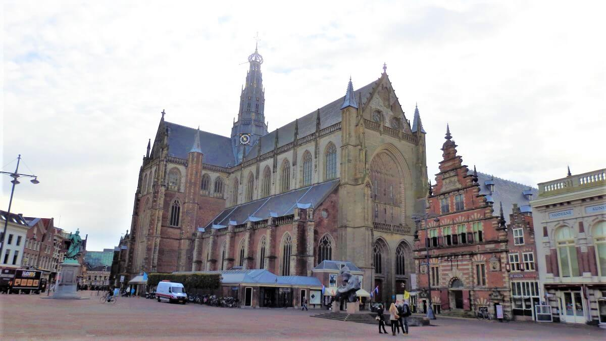 The St. Bavo Church in The Netherlands