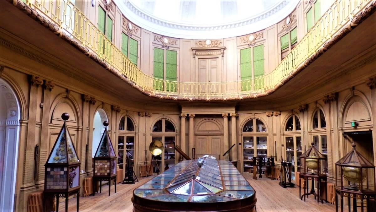 The oldest museum of the Netherlands, Teylers Museum