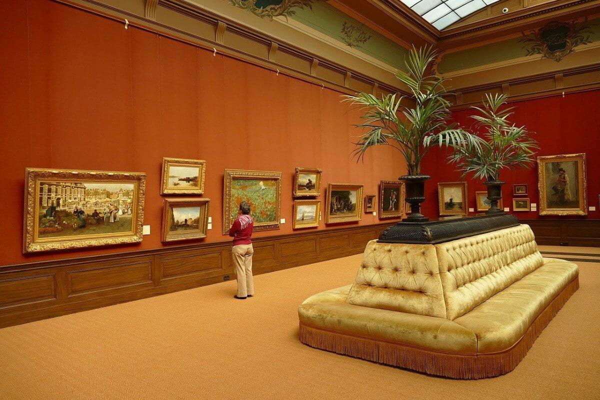The paintings of the Teylers Museum in Haarlem