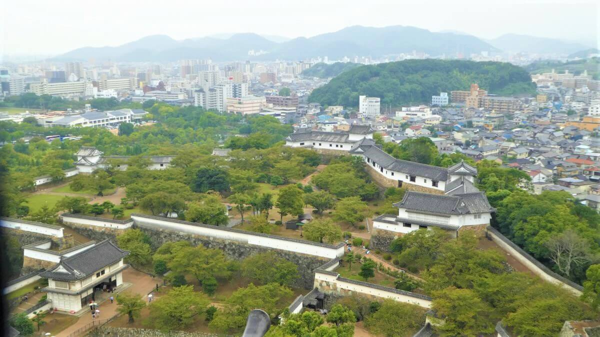 The gardens of the Himeji Castle, Kouko-en
