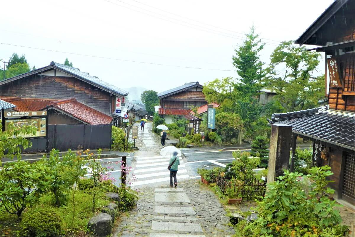 The small village of Magome in the Kiso Valley