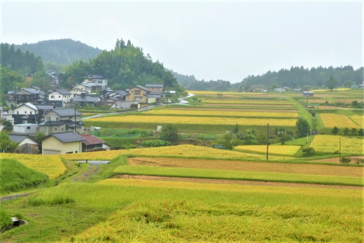 The beautiful Kiso Valley in Japan
