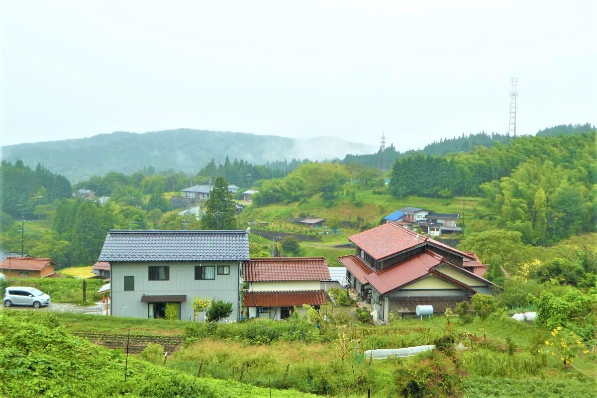 The beautiful nature of the Kiso Valley, Japan