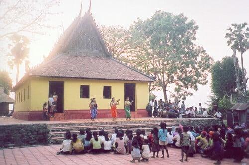 Roka Kandal Pagoda in Kratié, Cambodia