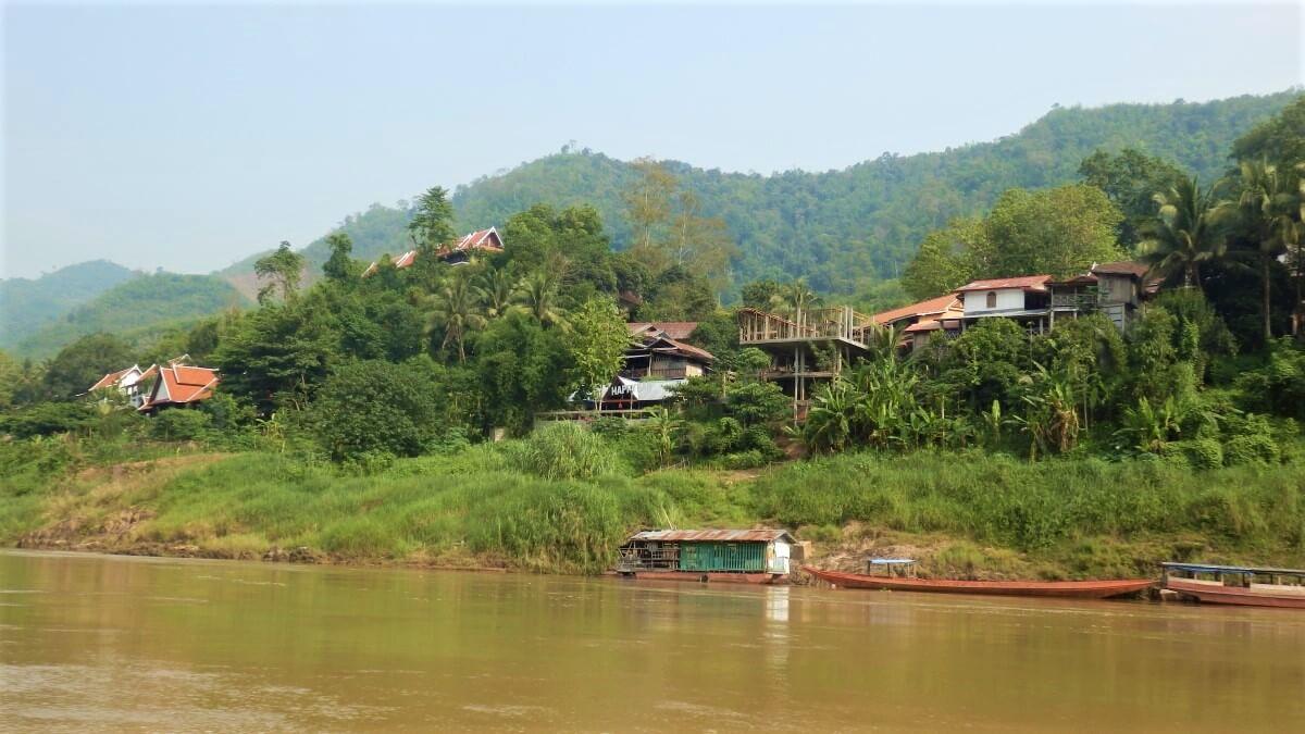 The boat from Luang Prabang to Pakbeng and Huay Xai