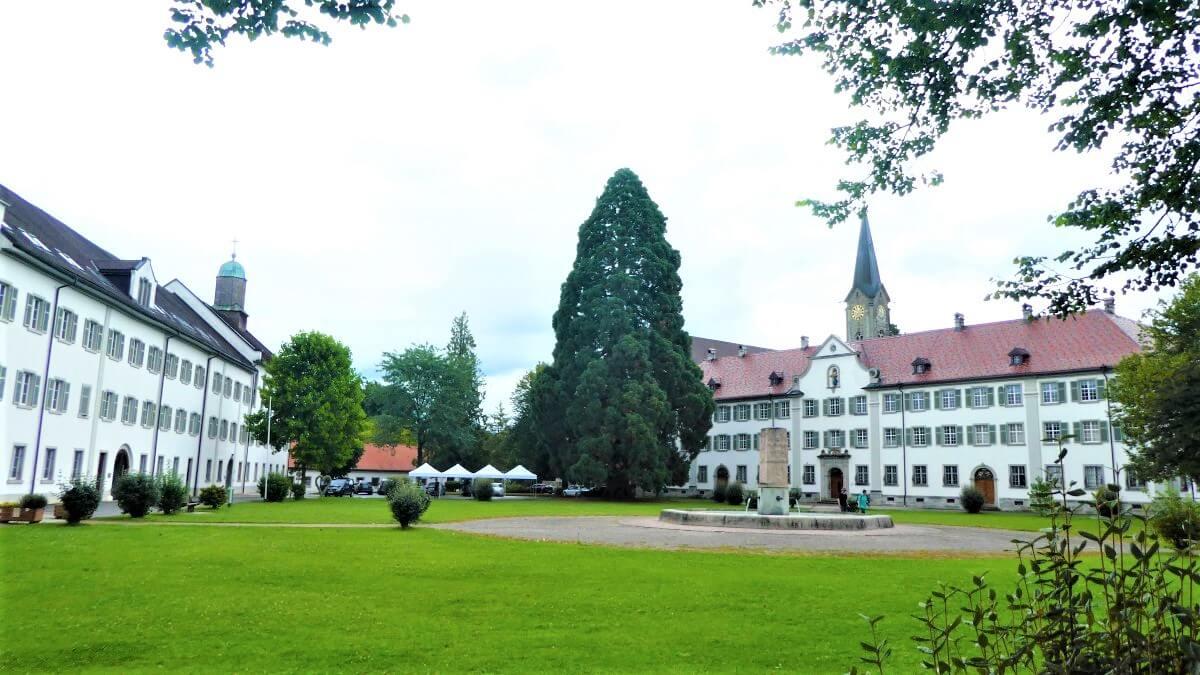 The monastery of Wettingen Mehrerau in Bregenz