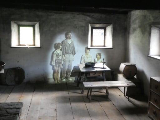 The museum Tiroler Bauernhofe in Kramsach
