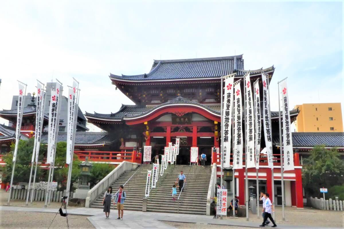 The Osu Kannon Temple in the heart of Nagoya