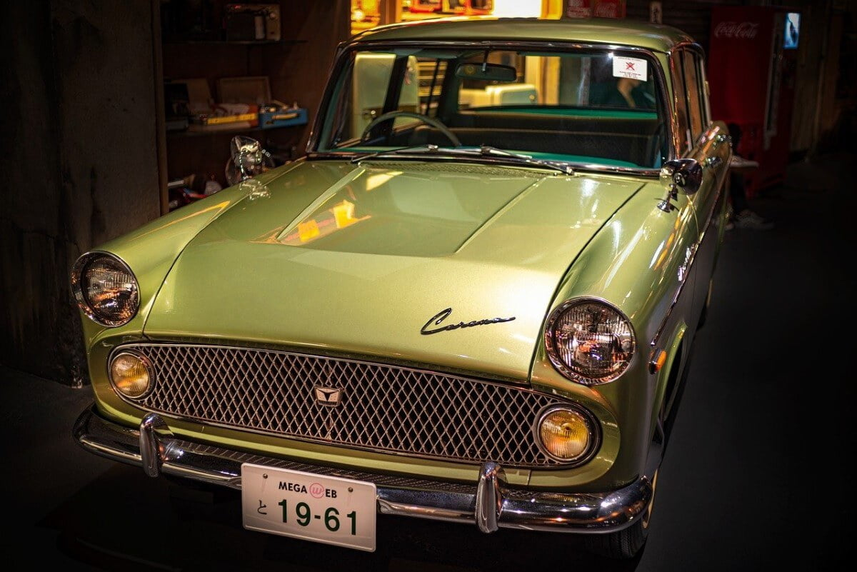 The Toyota Museum in Japan