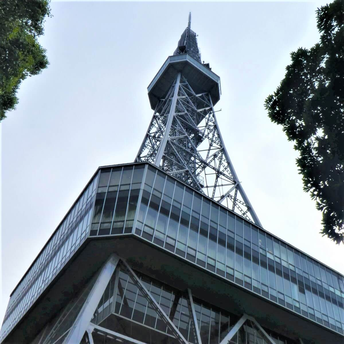 The Nagoya Television Tower in Japan