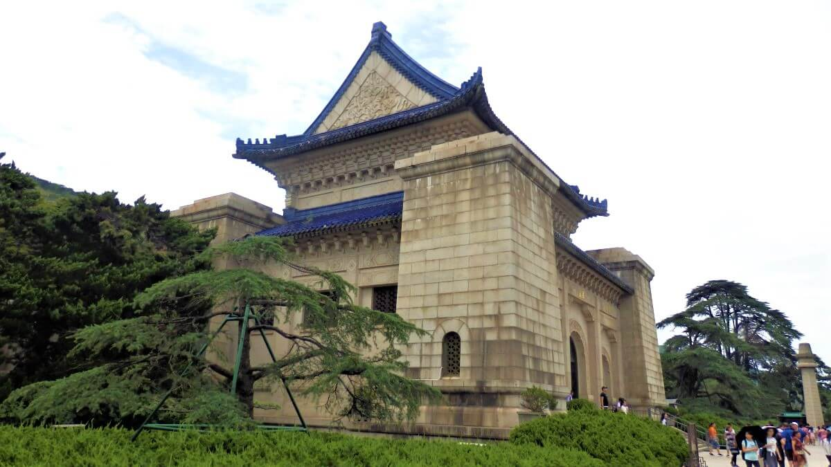 The tomb of Sun Yat-Sen, Nanjing