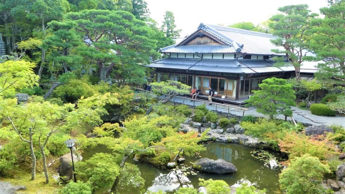 A Japanese Garden in Nara, Japan