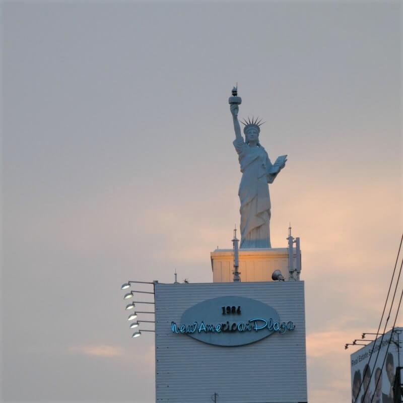 America-Mura and the Statue of Liberty