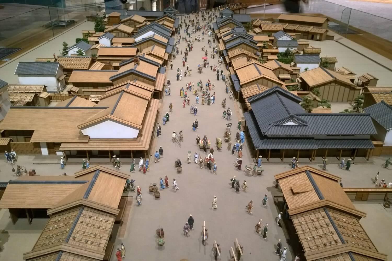 The old fishing village of Tokyo, Japan