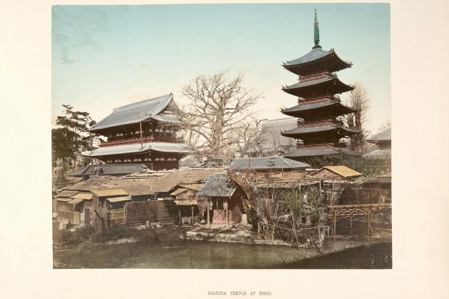 The history of the Asakusa Kannon Temple in Tokyo