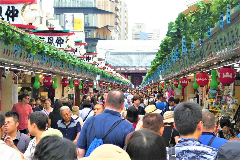 The oldest street of Tokyo, Nakamise-dori