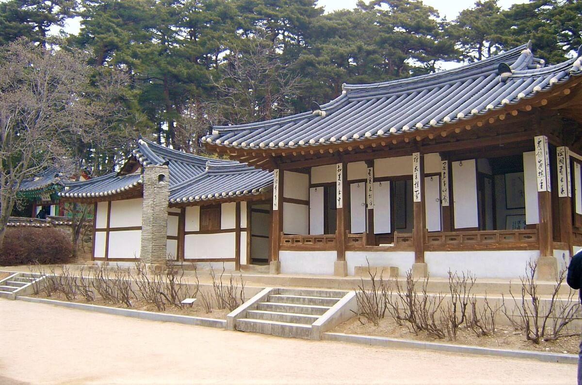 Sightseeing in Gangneung South Korea: Ojukheon