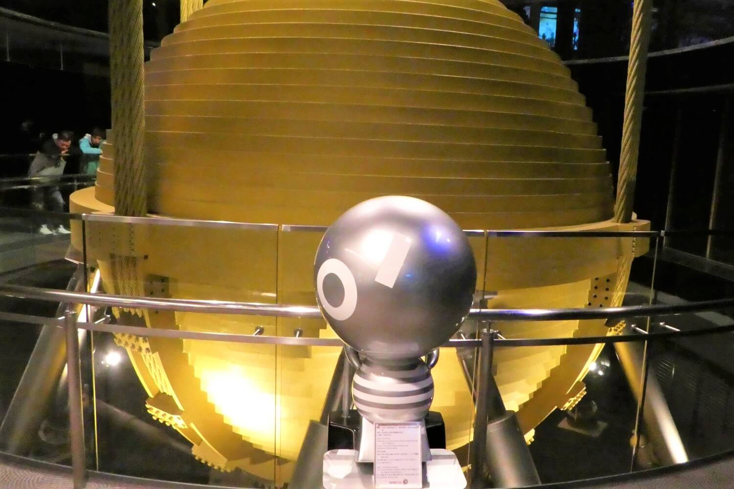 The Tuned Mass Damper in the Taipei 101