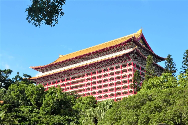The beautiful Grand Hotel, Taipei