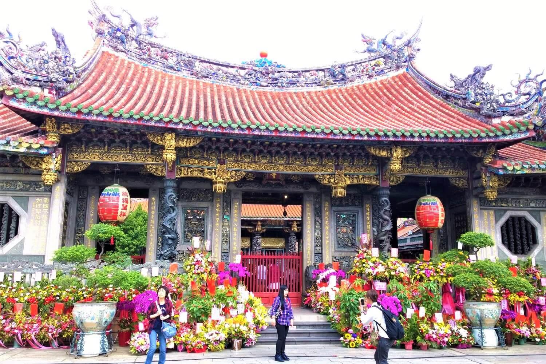 Bangka Longshan Temple in Taipei, Taiwan