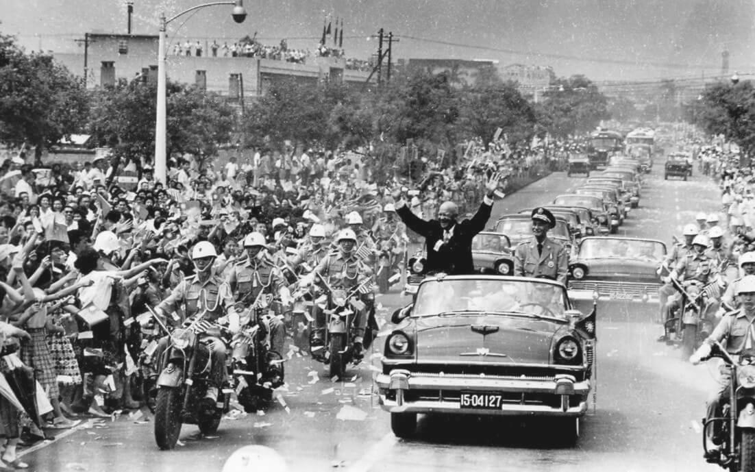 President Chiang Kai shek of Taiwan