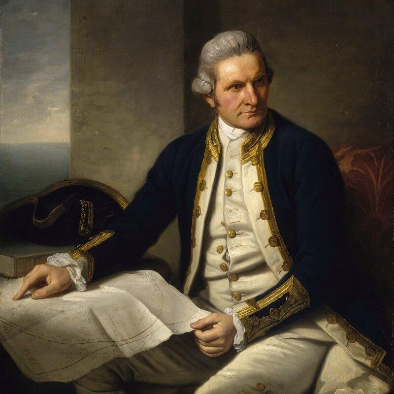 British Explorer James Cook