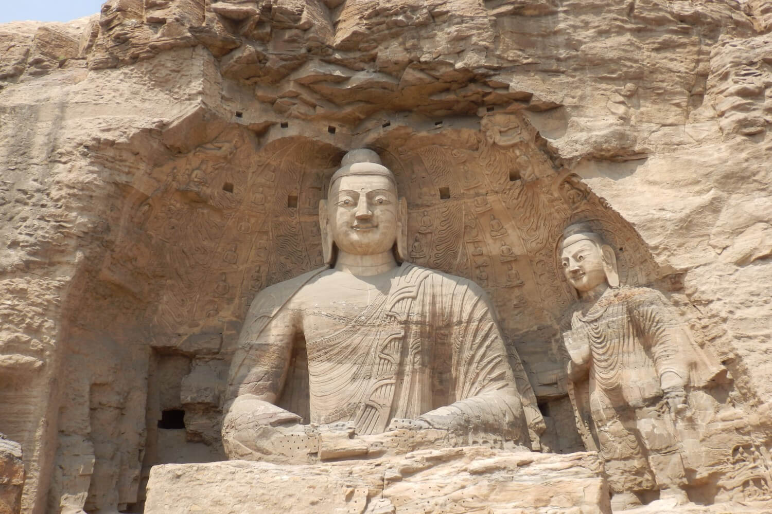 The famous Caves of Yungang in China