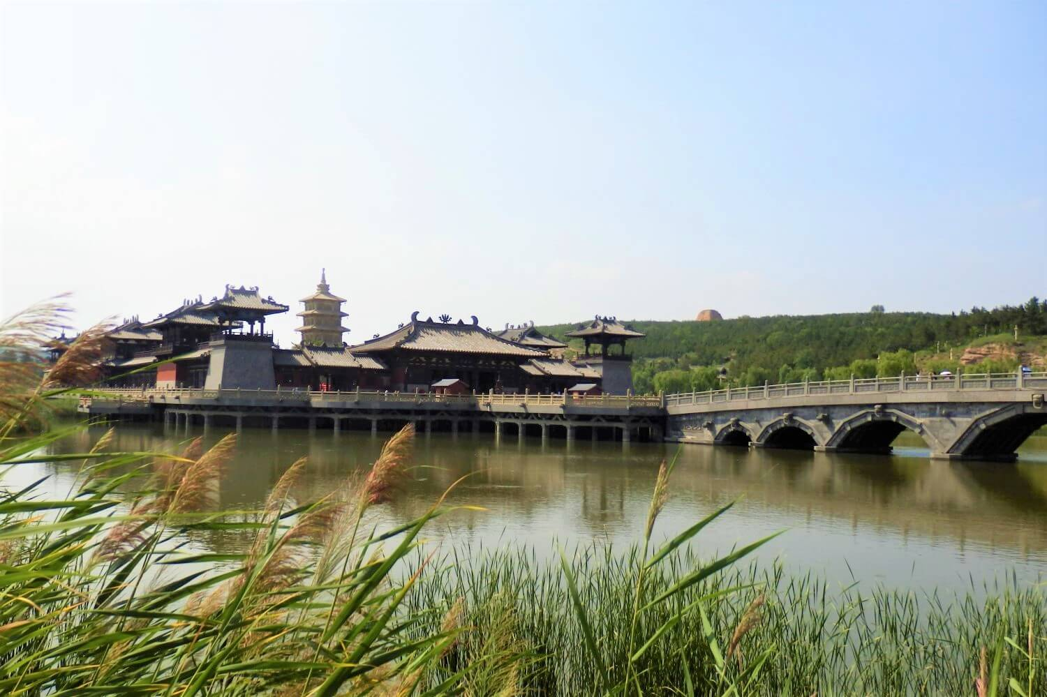 A temple in Yungang China